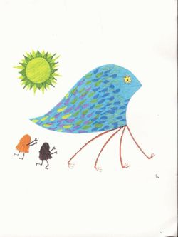 Dabblerdrawingharriedbird